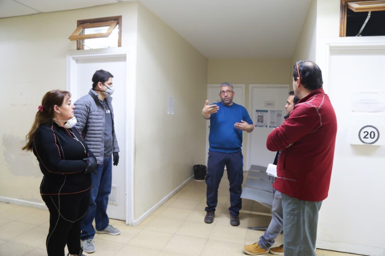Refuncionalizarán áreas en el Hospital de Ushuaia para la internación y atención de pacientes