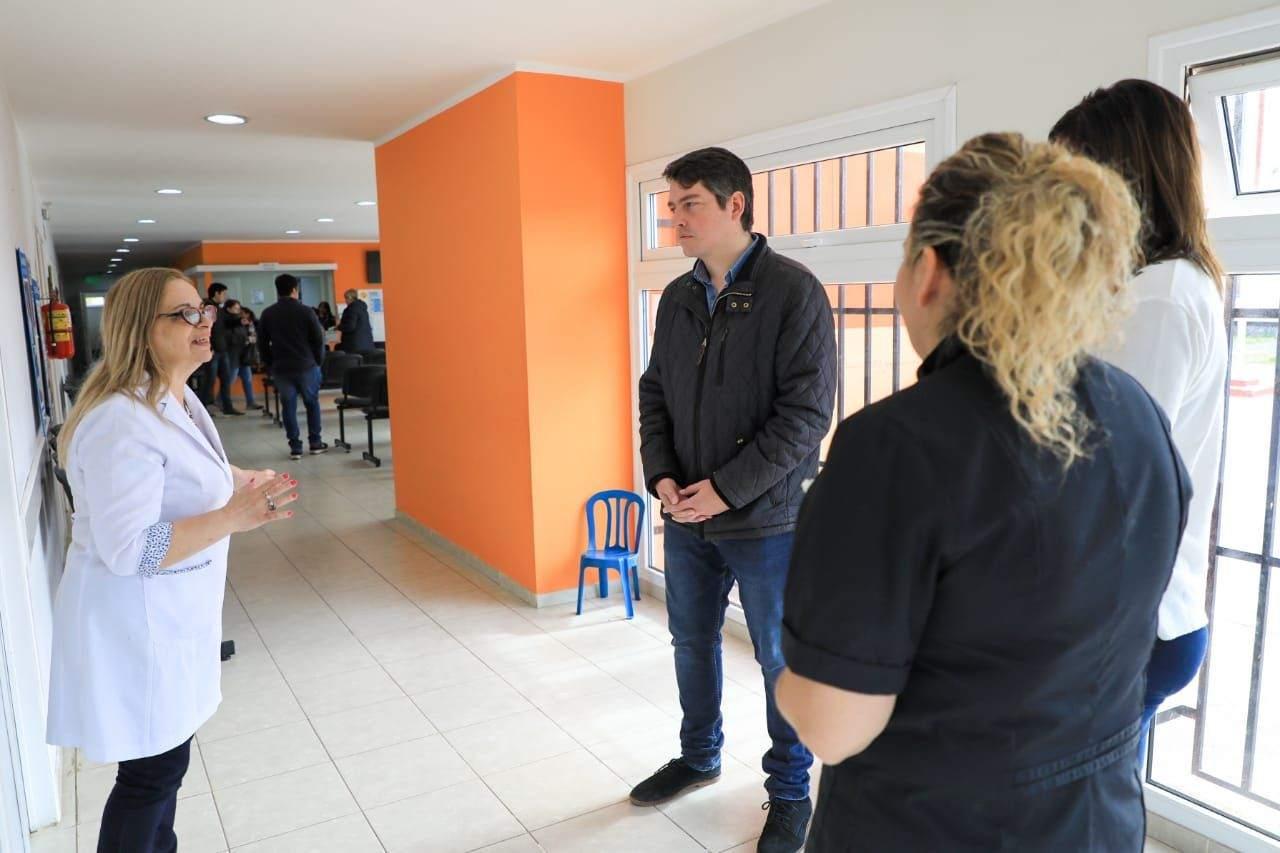 El intendente Pérez visitó los centros de salud municipales