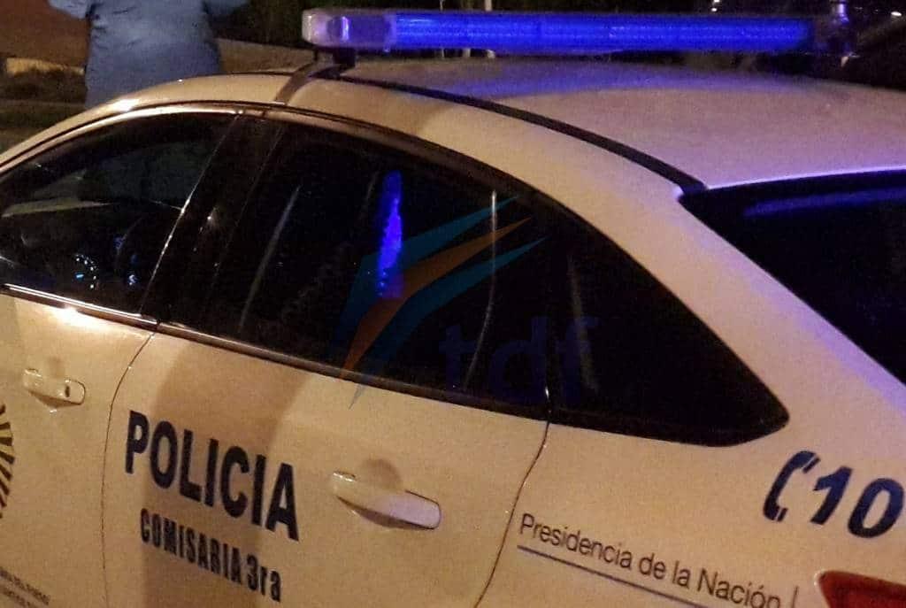 Policía sorprendió a un hombre transportando plantas de marihuana en la madrugada