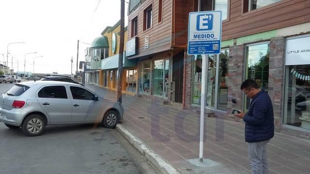 El estacionamiento medido suspendido preventivamente hasta el lunes por caso de COVID