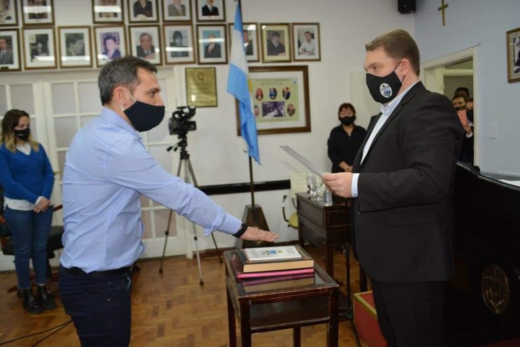 El Concejo de Río Grande designó a Sebastián Tesei como nuevo secretario Legislativo