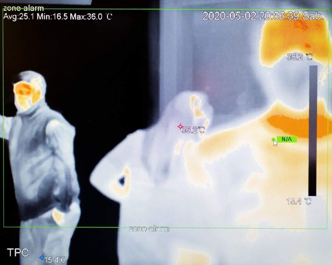 Nat Geo destacó los escaner térmicos en los supermercados de Ushuaia