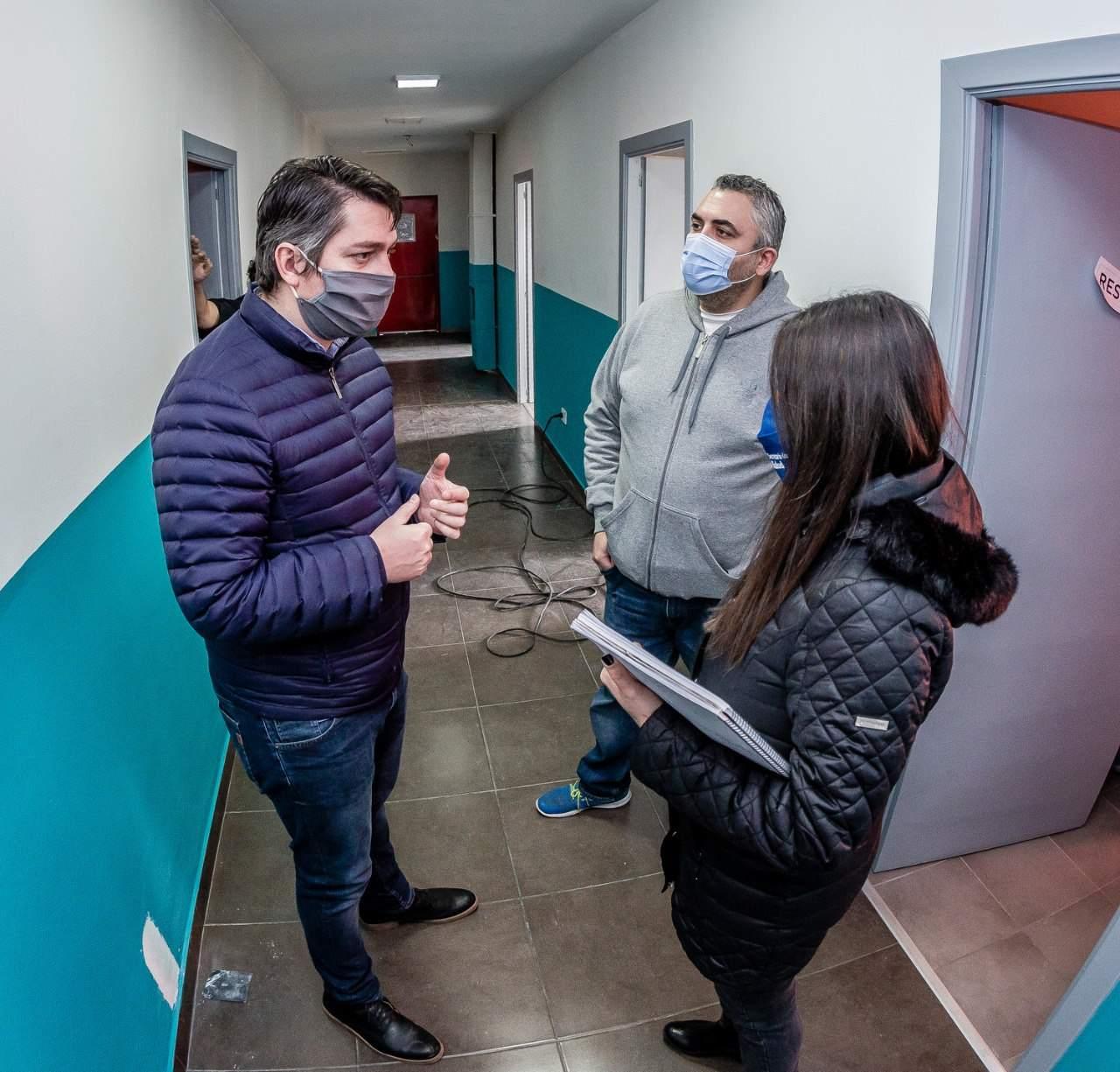 Acondicionan también el albergue municipal para recibir pacientes Covid-19 con síntomas leves