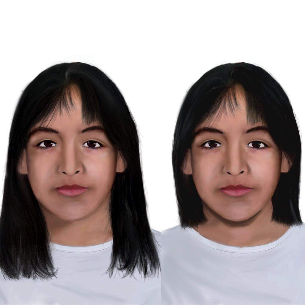 Dieron a conocer la actualización del rostro de Sofía Herrera