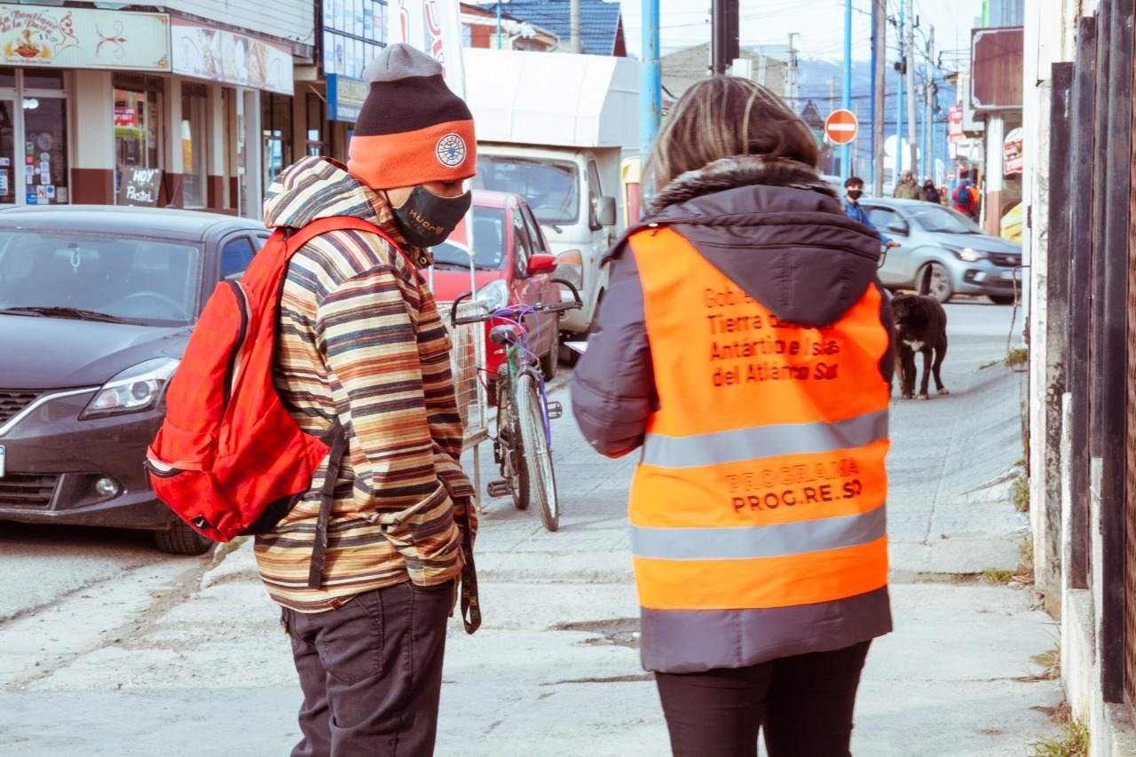 Gobierno continúa implementando el programa Cuidarnos TDF en la ciudad de Ushuaia