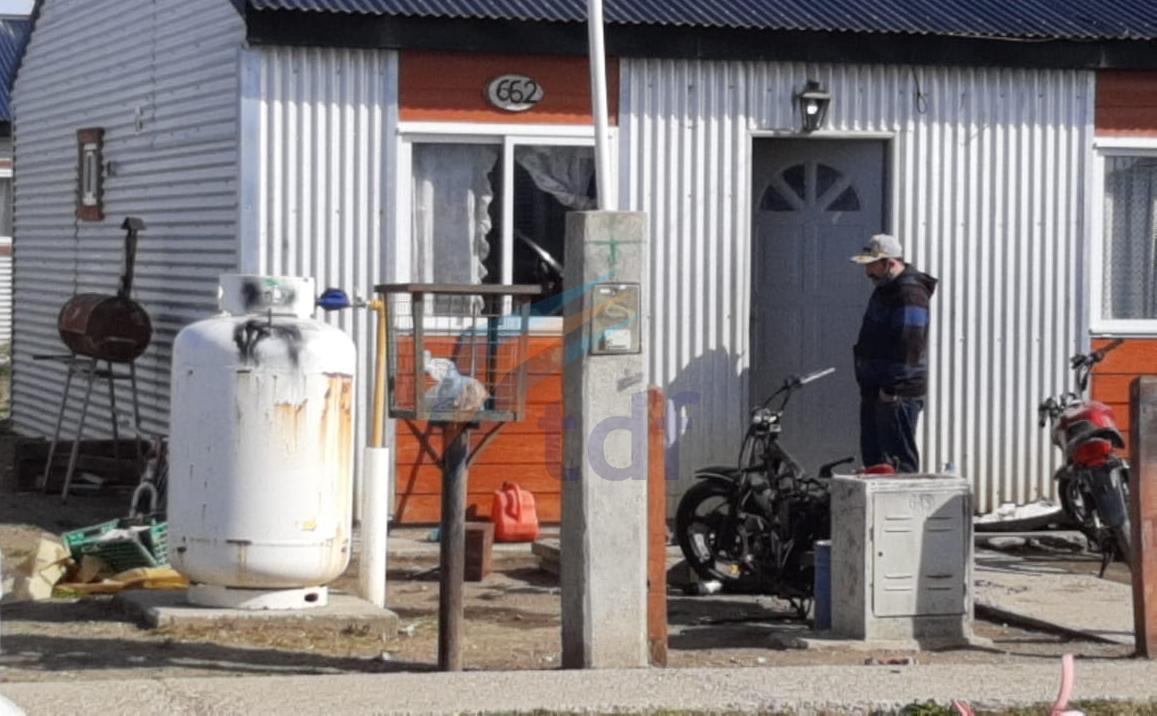 Escape de gas en el garrafón de una vivienda en Barrio los Cisnes