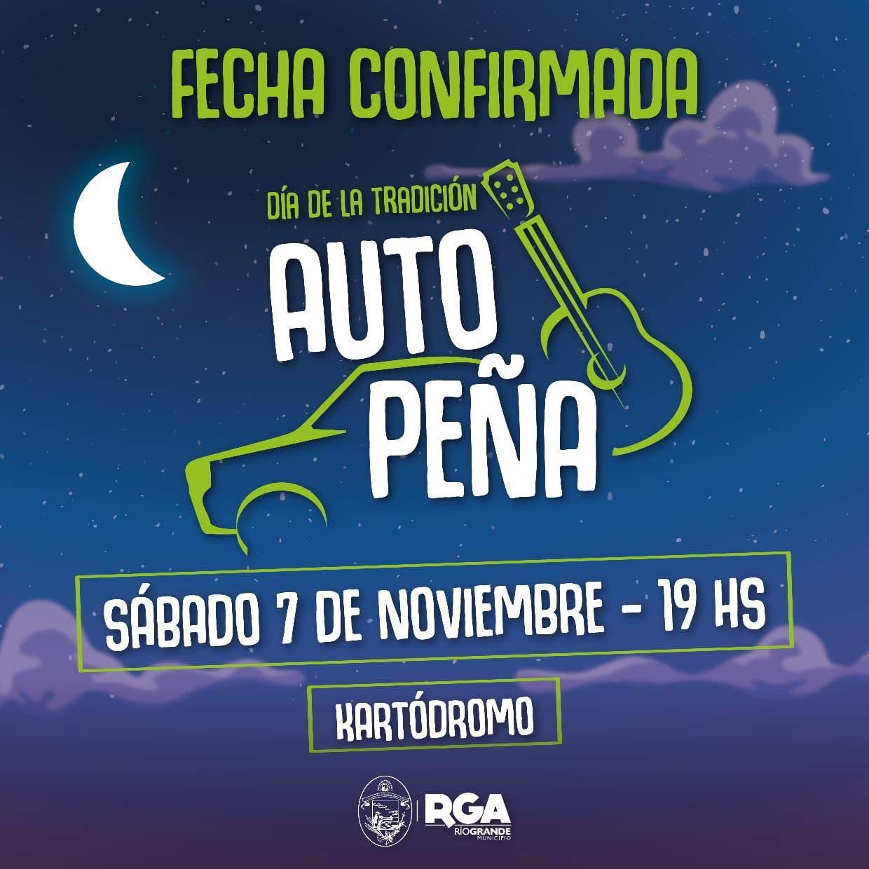 """El 7 de noviembre se realizará la """"autopeña"""" municipal en el kartódromo de Río Grande"""