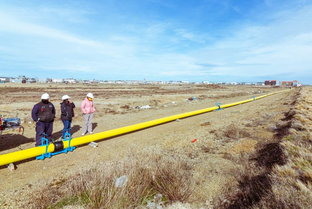 El Gobierno avanza con la etapa final de la ampliación de la red de gas de la urbanización San Martín Norte