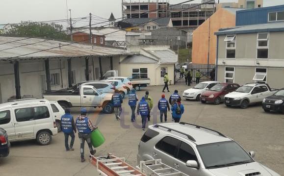 Una cooperativa ingresó al municipio reclamando trabajo