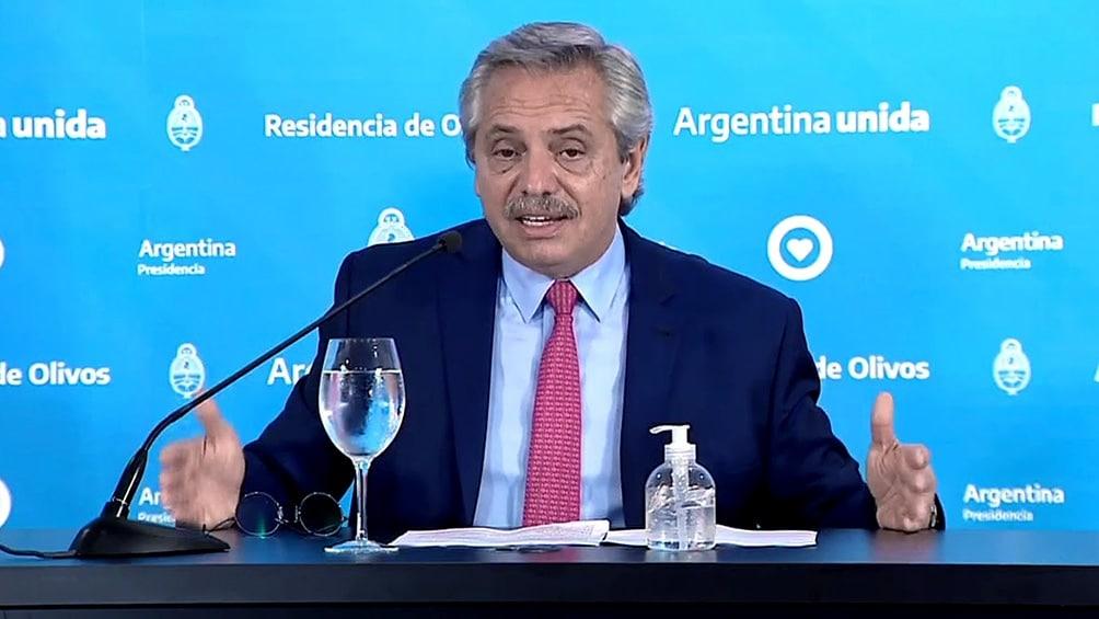 Coronavirus: Alberto Fernández anunció la extensión de las medidas sanitarias hasta el 20 de diciembre