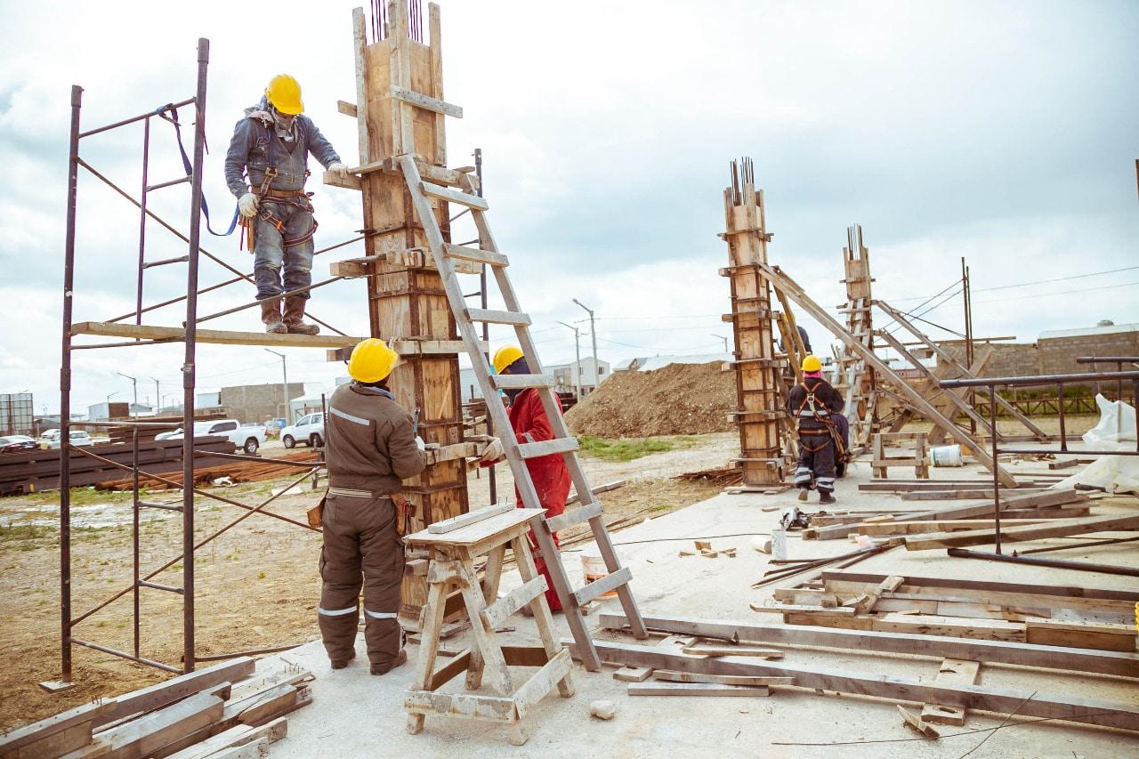 Reactivaron la construcción de la nueva escuela técnica en la margen sur de Río Grande