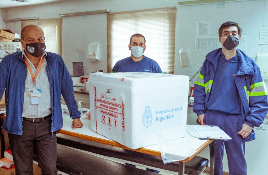 Comenzó a llegar a la provincia una nueva remesa de vacunas Sputnik V