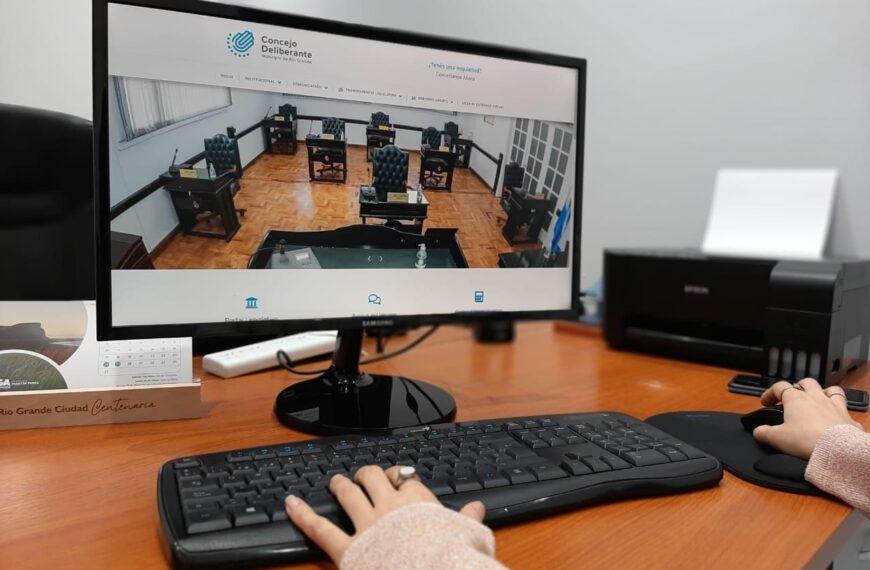 El Concejo Deliberante presenta nueva Página Web