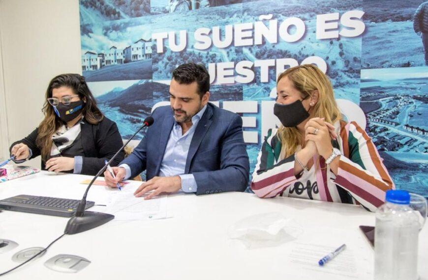 Vuoto firmó el acta de intención con SITRACYT para lograr nuevas soluciones habitacionales