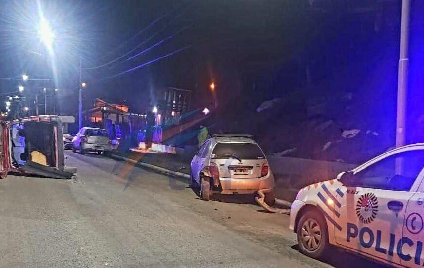 Dos accidentes de tránsito en Ushuaia con conductores en estado de ebriedad