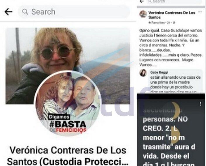 """Denuncian que """"vidente"""" investigada en el caso Sofía Herrera quiere intervenir en el caso de la niña perdida en San Luis"""