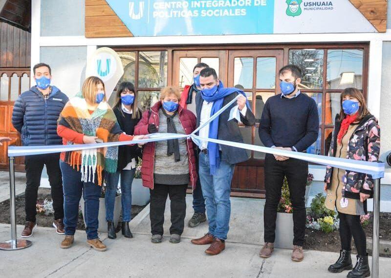 Vuoto inauguró el Centro Integrador de Políticas Sociales del Municipio