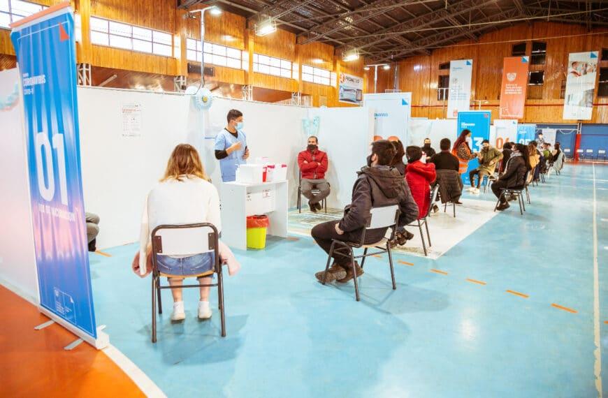 El lunes se realizará en Río Grande una nueva jornada masiva de vacunación con primeras y segundas dosis
