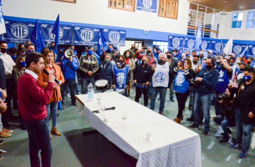 """ATE se encolumnó detrás de la lista del Frente de Todos: """"En las próximas elecciones se ponen en juego cuestiones fundamentales para la provincia"""""""