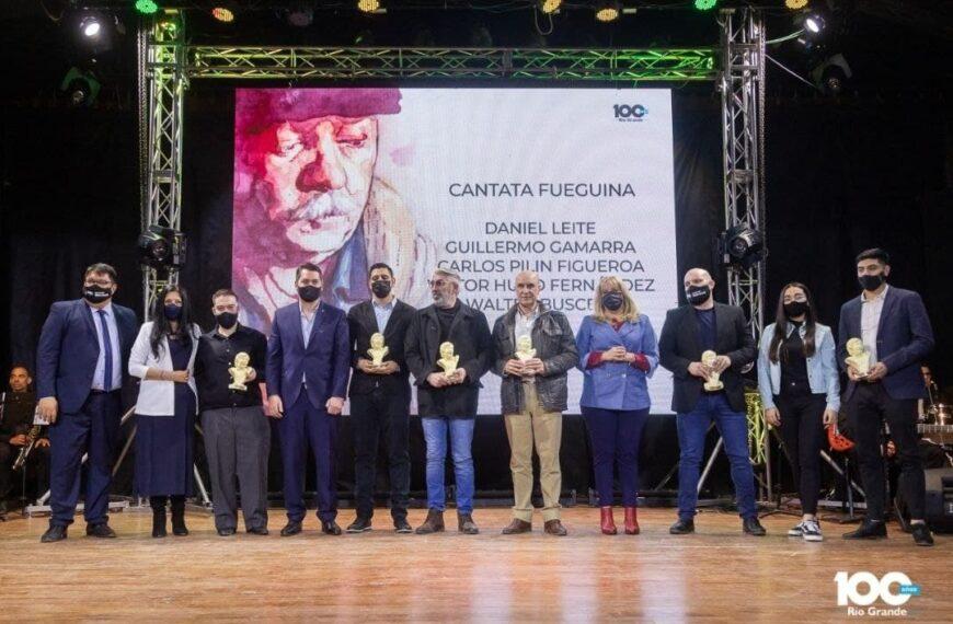 """Se entregaron los reconocimientos """"Walter Buscemi"""" a artistas de la música"""